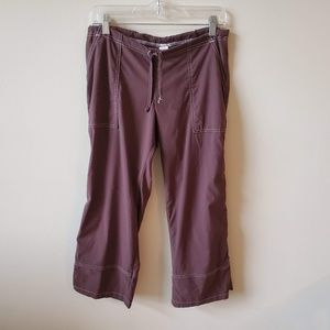 Prana Womens Cropped Athletic Pants